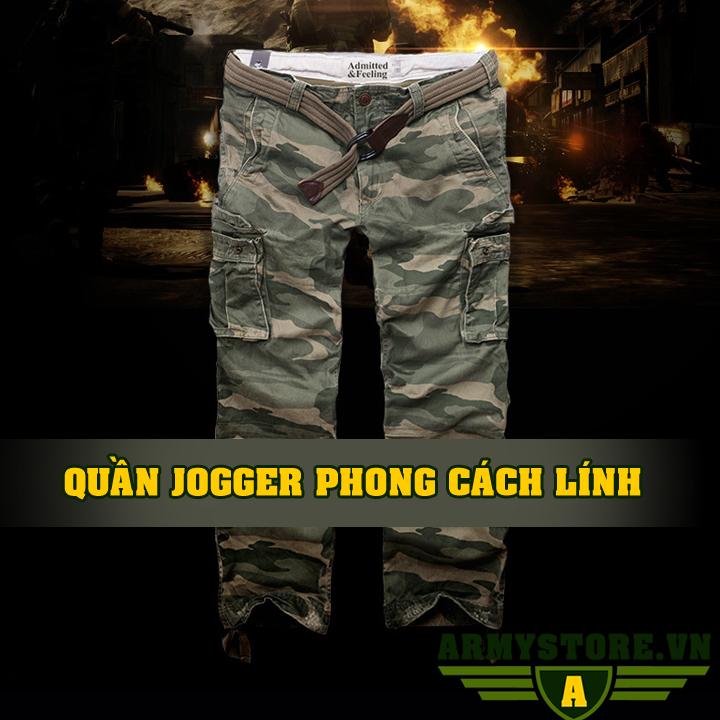 Quần Jogger rằn ri lính chính hãng OCGL ARM-855