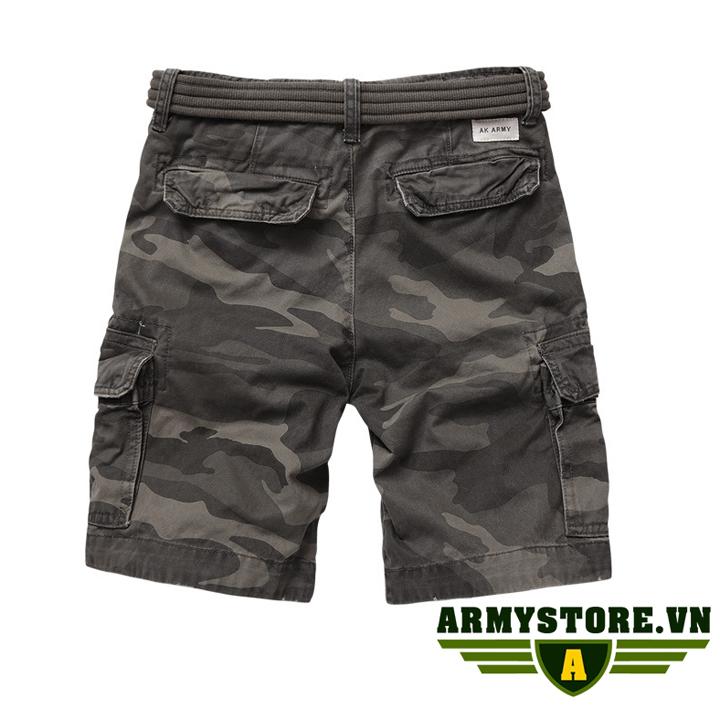 Quần short túi hộp nam rằn ri lính Army chính hãng ARM-861