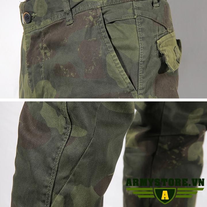 Quần túi hộp nam rằn ri lính Army chính hãng ARM-860