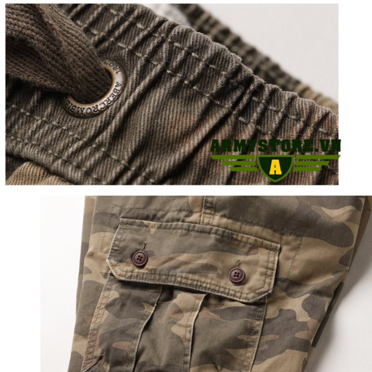Quần túi hộp nam rằn ri lính Army chính hãng ARM-862