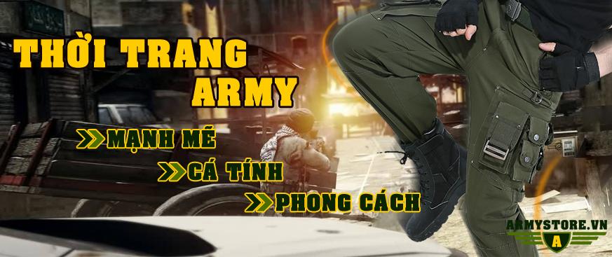 Quần áo lính army
