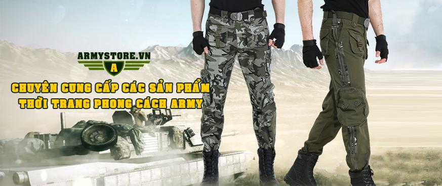 Thời trang lính