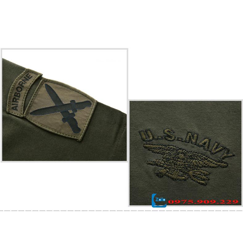 Áo phông nam cộc tay thời trang lính Army ARM-816