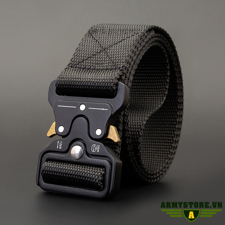 Dây thắt lưng lính mỹ cao cấp ARM-830 (Đen)