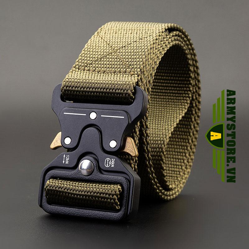Dây thắt lưng lính mỹ cao cấp ARM-830 (Xanh lính)