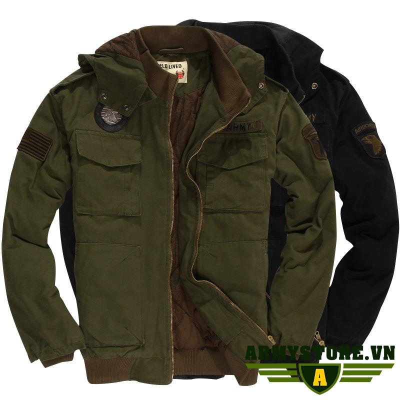 Áo khoác lính - Áo khoác lính Mỹ Army ARM-850