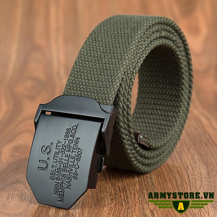 Dây thắt lưng lính mỹ cao cấp ARM-832 (Xanh lính)