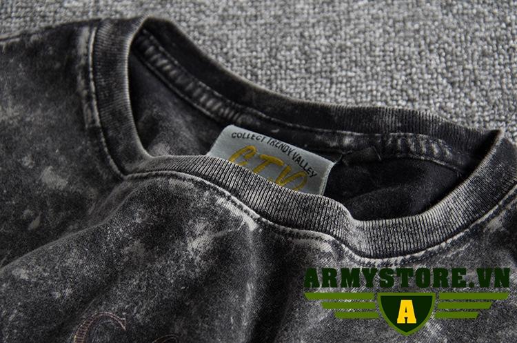 Áo thun nam phong cách bụi ARM-868