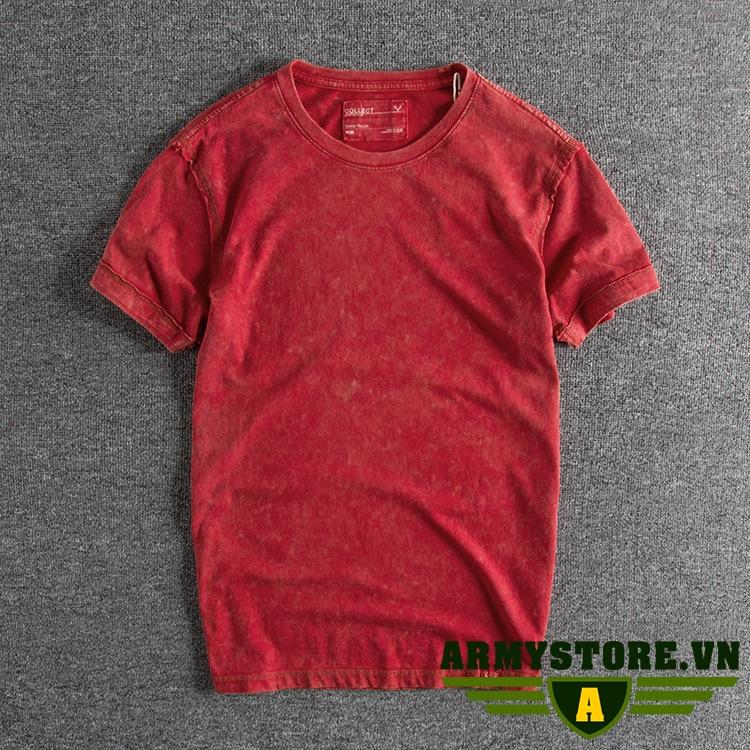 Áo thun nam phong cách bụi ARM-876 (Đỏ)