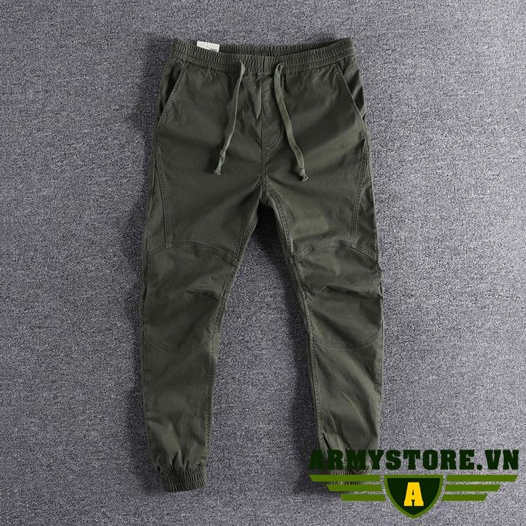 Quần jogger xanh lính thời trang cao cấp ARM-870 (Xanh lính)