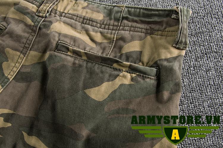 Quần short  nam rằn ri lính cao cấp ARM-873