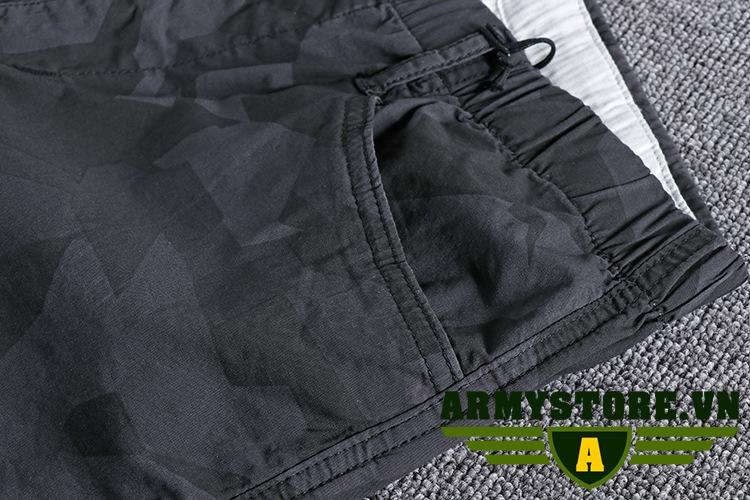 Quần túi hộp nam rằn ri lính  ARM-882