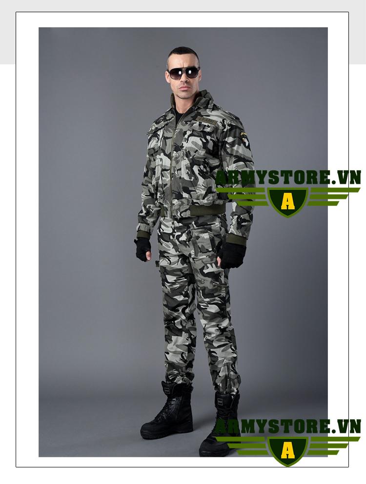 Áo Khoác Lính Mỹ Army cao cấp ARM-919