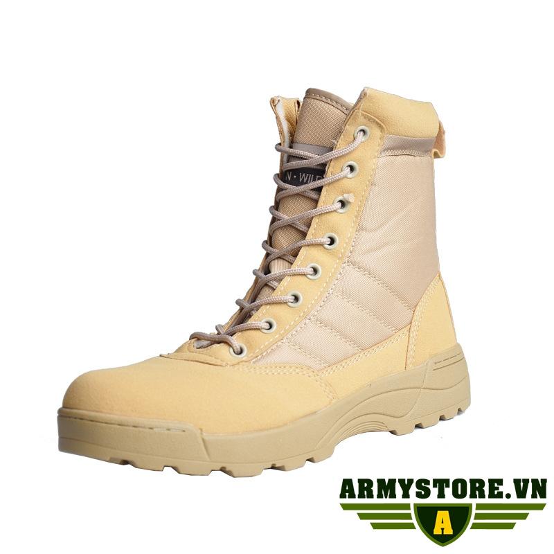 Giày lính SWAT Original cổ cao ARM-909