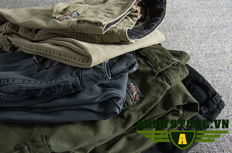 Quần Jogger xanh lính thời trang cao cấp ARM-900