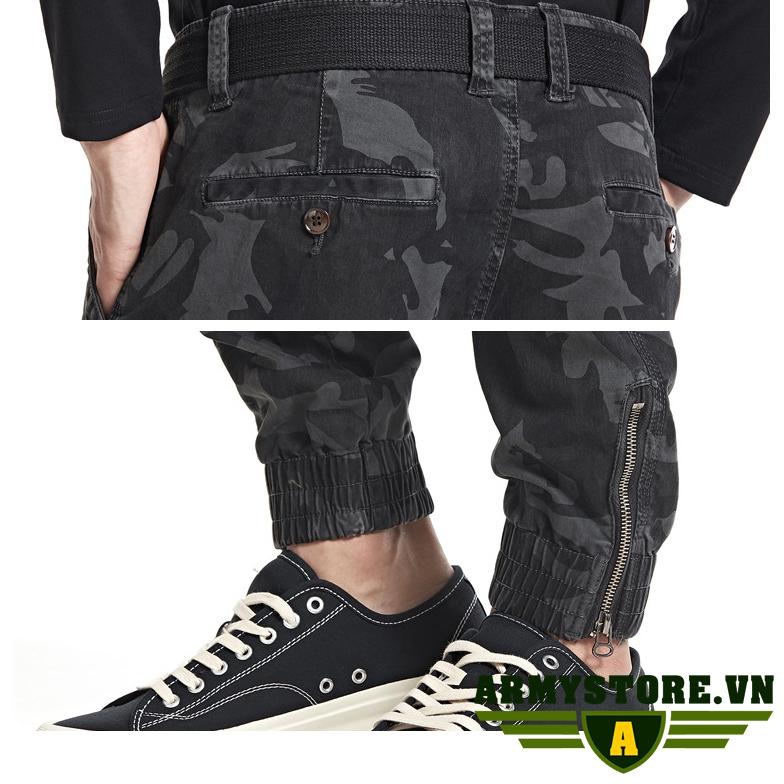 Quần túi hộp nam phong cách lính ARM-915