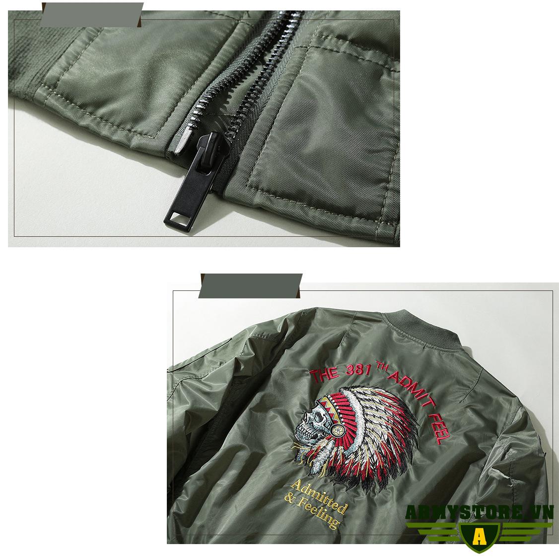Áo Khoác Lính Mỹ cao cấp ARM-921