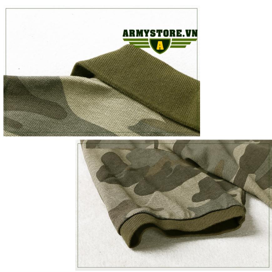 Áo thun nam phong cáh Lính  ARM-922