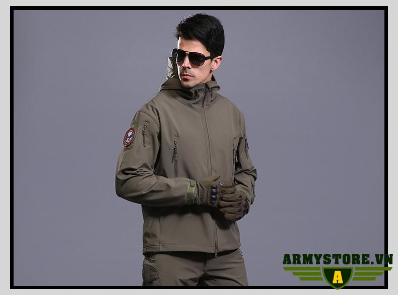 Áo khoác lính TAD cá mập ARM-923