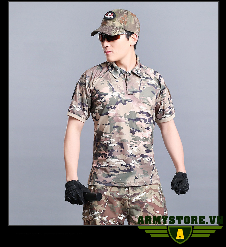 Áo thun lính Army cao cấp ARM-927