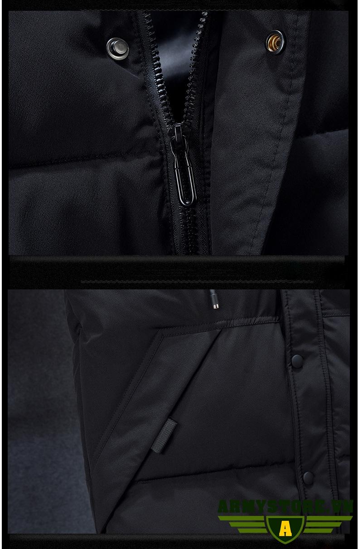Áo khoác phao gile nam ARM-935