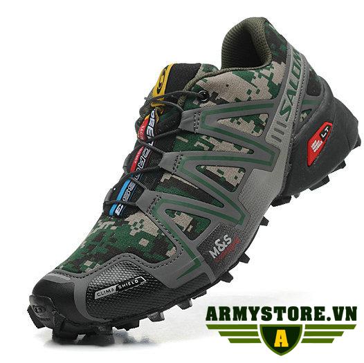 Giày đi phượt - Chạy bộ màu rằn ri ARM-934