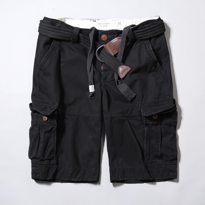 Quần short túi hộp lính chính hãng Aber ARM-857 (Đen)