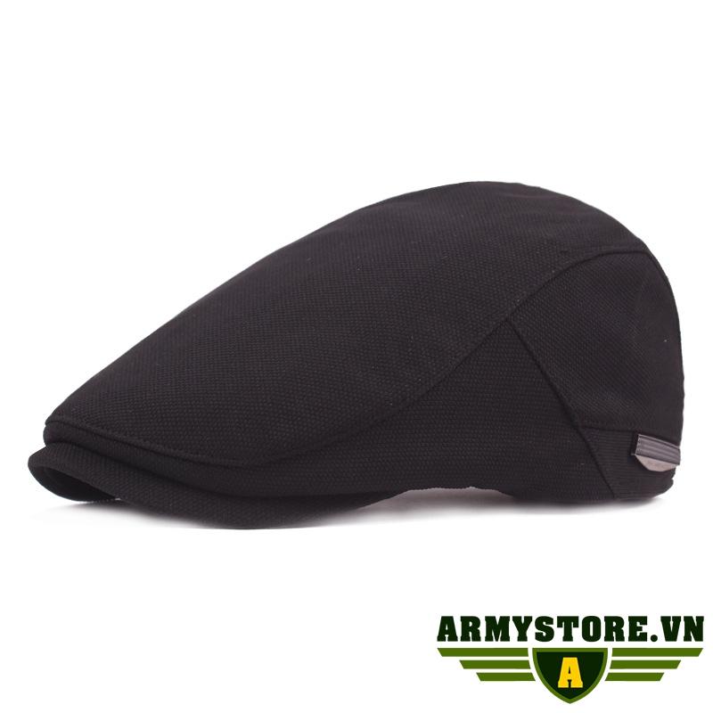 Mũ nồi Mũ Nón Beret Nam ARM-947 (Đen)