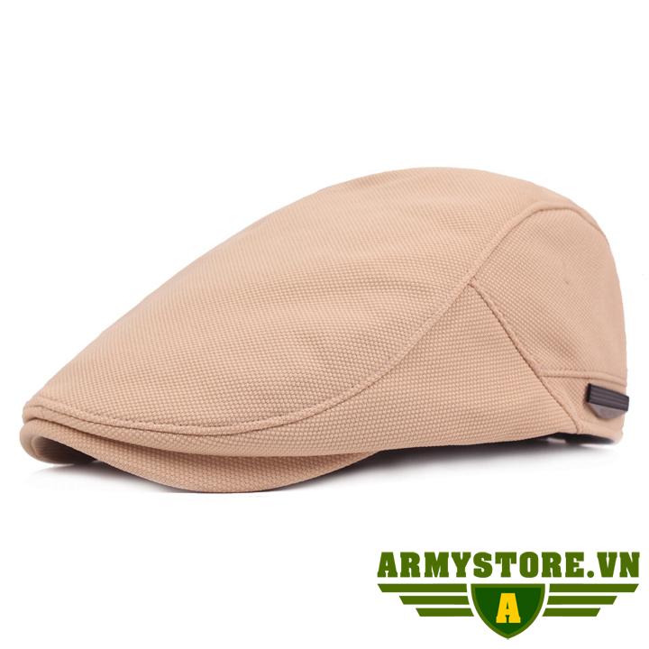 Mũ nồi Mũ Nón Beret Nam ARM-947 (Kem)