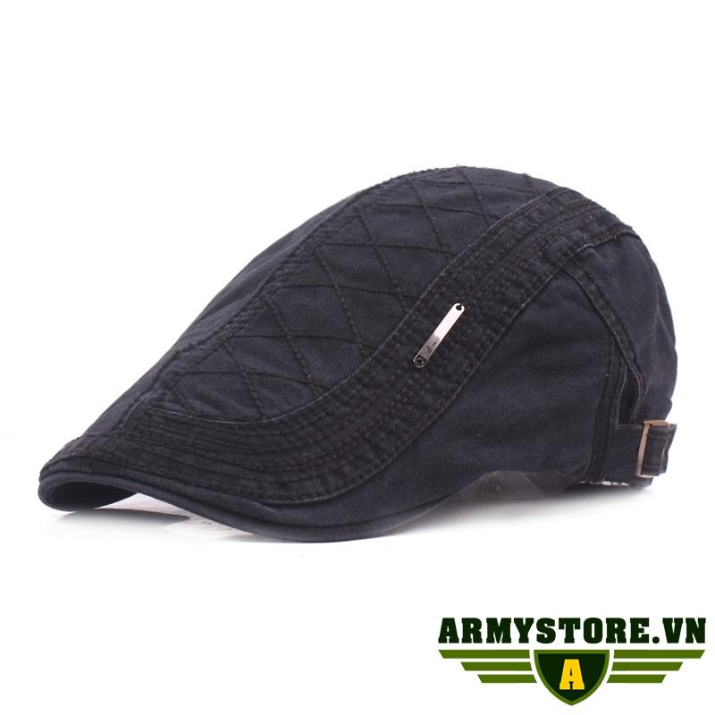 Mũ nồi mũ nón beret nam ARM-950 (Màu đen)