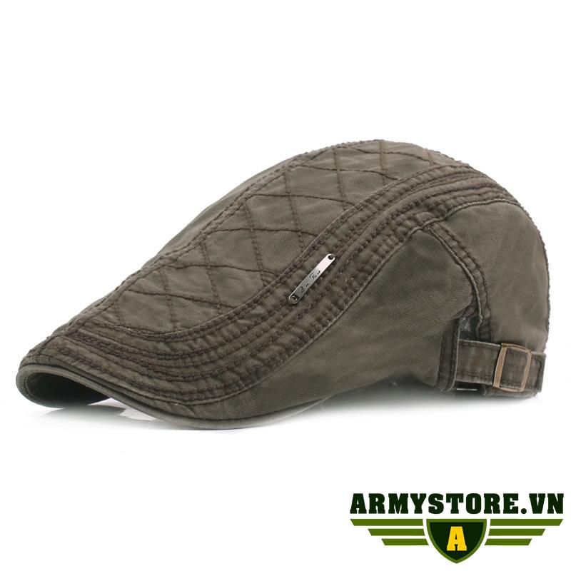 Mũ nồi mũ nón beret nam ARM-950 (Màu xanh rêu)