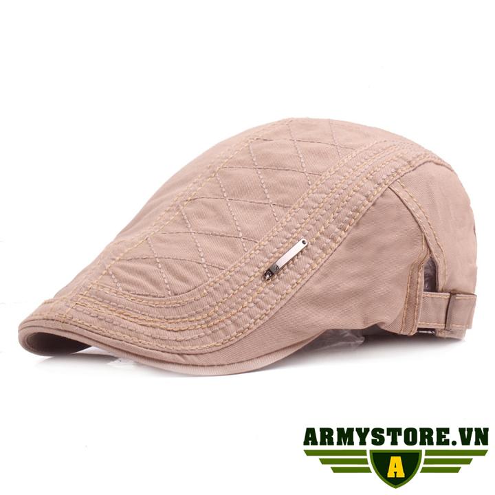 Mũ nồi mũ nón beret nam ARM-950 (Màu kem)