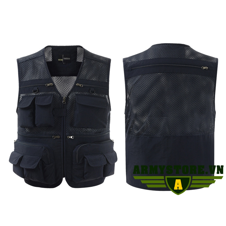 Áo ghi lê thời trang cao cấp ARM-903 (Xanh Đen)