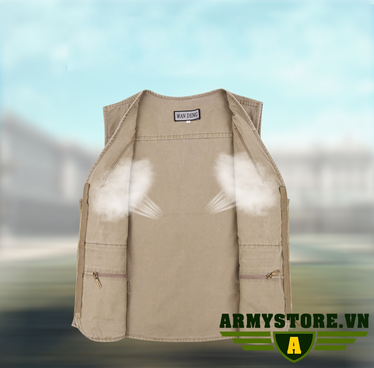Áo Gile Nam phong cách Lính  ARM-966