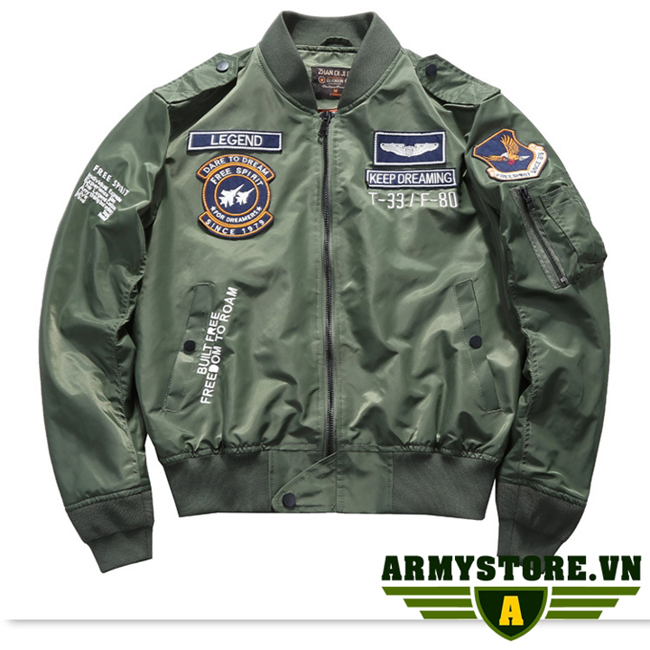 Áo khoác lính Mỹ cao cấp ARM-960