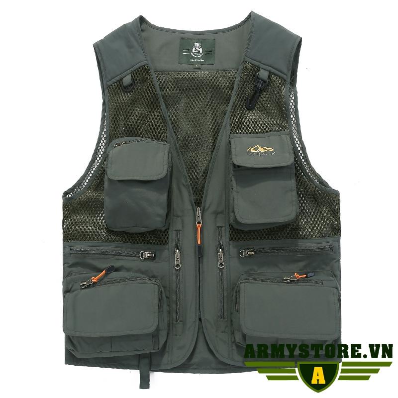 Áo ghi lê thời trang cao cấp ARM-970 (Xanh lính)