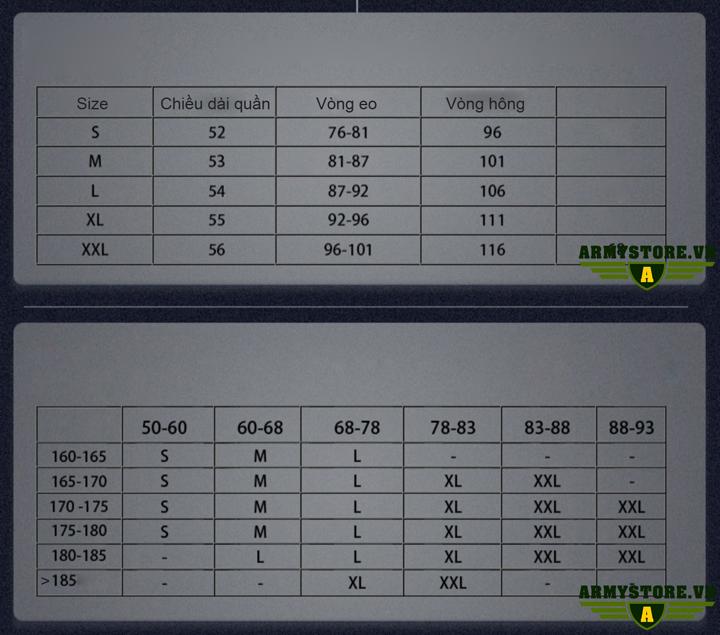 Quần short chiến thuật s.archon cao cấp ARM-976