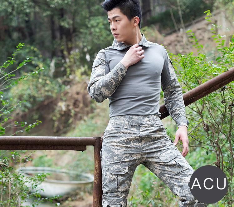 Áo Thun Tay Dài  Phong Cách lính ACU ARM-981