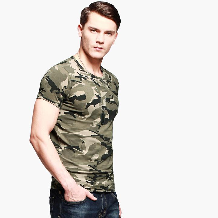 Áo phông nam cộc tay thời trang lính Army ARM-991