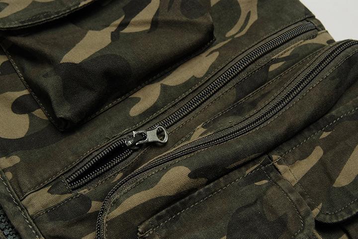 Áo gile nam rằn ri phong cách lính ARM-998