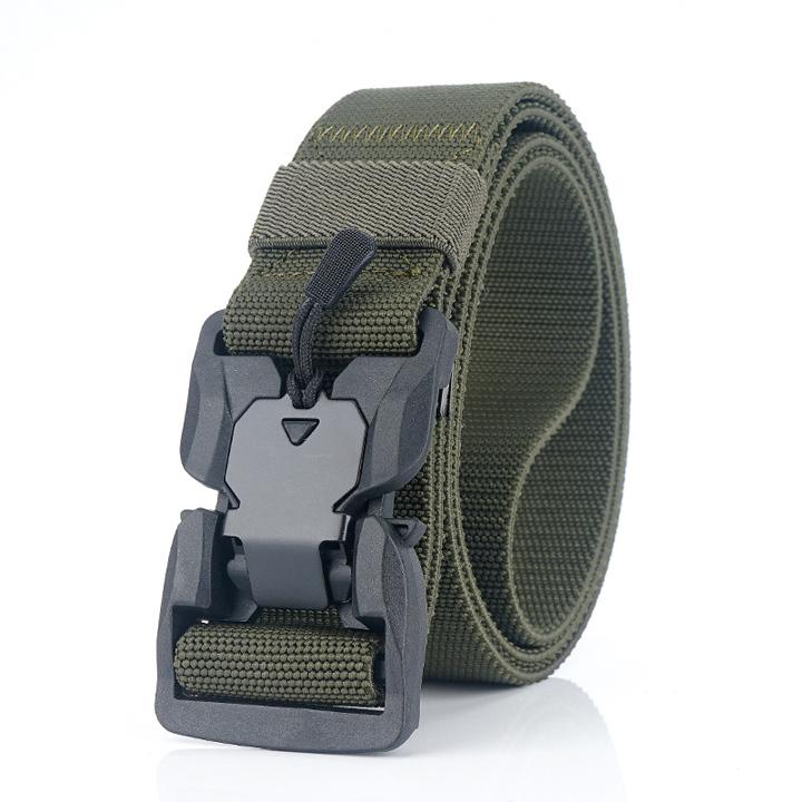 Dây thắt lưng lính cao cấp ARM-1003 (Xanh lính)