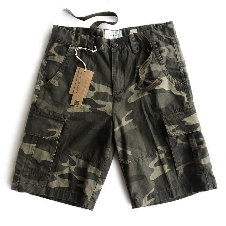Quần short túi hộp nam rằn ri lính Army chính hãng ARM-861 (Màu số 2)
