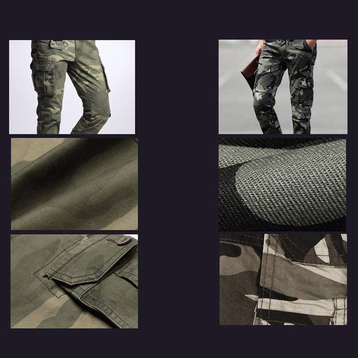 Quần túi hộp nam phong cách lính Army ARM-1009