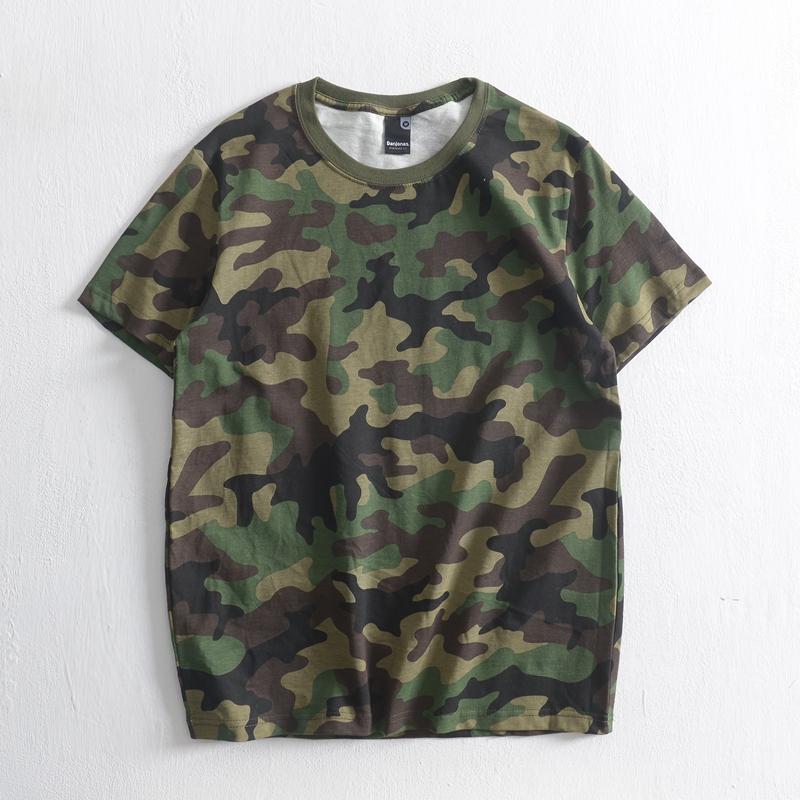 Áo phông nam rằn ri cộc tay thời trang lính Army ARM-1030