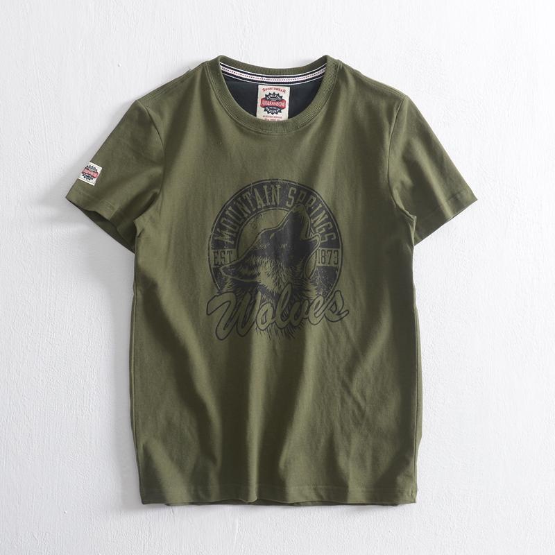 Áo phông nam cộc tay thời trang lính Army ARM-1031