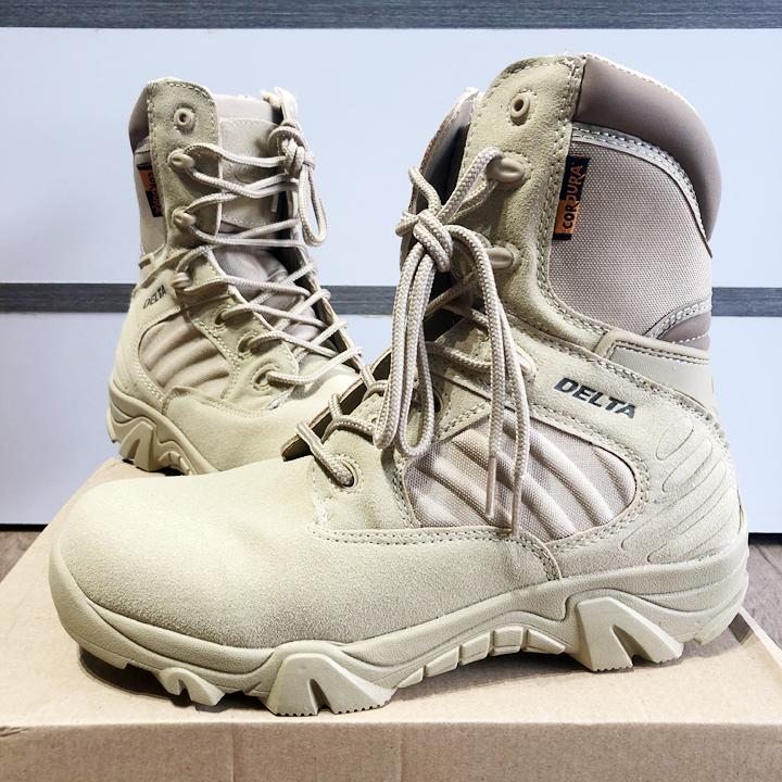 Giày lính cổ cao chính hãng ARM-910 (Màu cát)