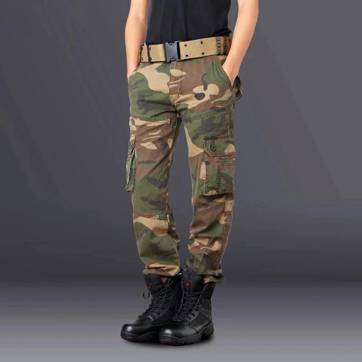 Quần túi hộp nam phong cách lính Army ARM-1013 (Răn ri)