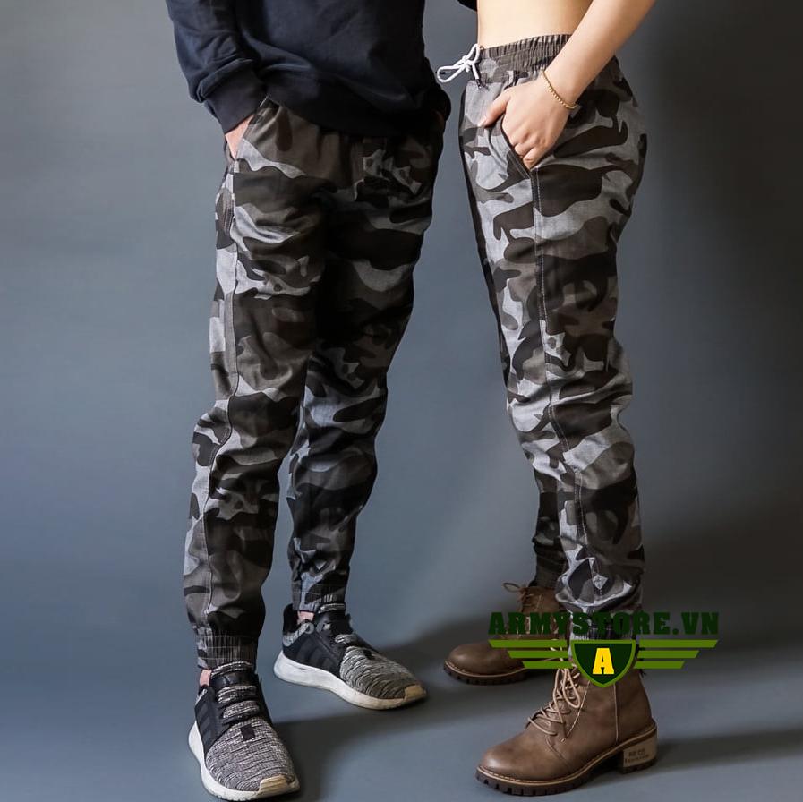 Quần jogger rằn ri phong cách lính ARM-1037 (Màu 1)